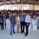 Prefeita Rosiana Beltrão se reúne com professores e secretário de educação de Feliz Deserto