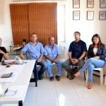 Prefeita Rosiana Beltrão visita industria de beneficiamento de côco, IN CÔCO.