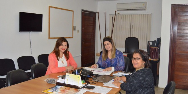 Prefeita Rosiana Beltrão busca orientações sobre programas da Secretaria de Estado da Assistência e Desenvolvimento Social do Estado de Alagoas