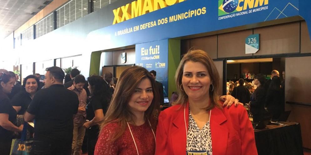 Prefeita Rosiana Beltrão participa da XX Marcha em Defesa dos Municípios