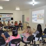 """Equipe da Secretaria de Educação se reúne para discutir as atividades em andamento do Programa """"Novo Mais Educação""""."""