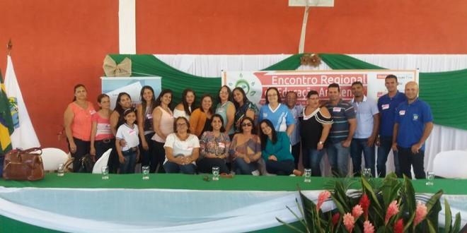 Feliz Deserto participou do Encontro Regional de Educação Ambientalrealizado em Coruripe.