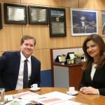Prefeita Rosiana Beltrão agradece ao Ministro Marx Beltrão pelo investimento aplicado na região sul de Alagoas.