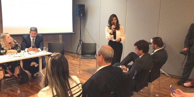 Prefeita Rosiana Beltrão cumpre agenda em Brasília, em busca de recursos.