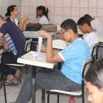 Prova Brasil: alunos das escolas municipais fazem simulado.