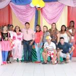 A Secretaria de Assistência Social de Feliz Deserto realizou uma tarde especial para as crianças do CRAS.