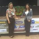 Prefeita Rosiana Beltrão e Secretária de Finanças Jeane Lima participam do V Diálogo Municipalista em Maragogi.