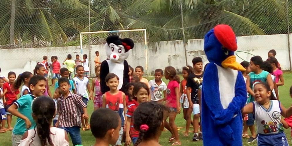 Escolas Municipais comemoram o Dia das Crianças em Feliz Deserto.