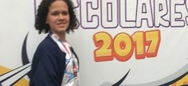 Aluna Francimary representa Feliz Deserto em São Paulo na para-olimpiadas 2017.