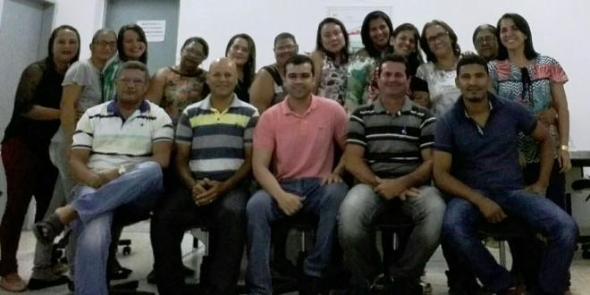 Professores envolvidos na Prova Brasil 2017 receberam reconhecimento do secretário de Educação Djalma Barros.