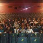 Prefeitura Municipal de Feliz Deserto promove visita de criancas e adolescentes ao cinema na Capital Alagoana.